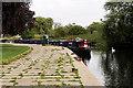 SP9066 : River Nene, Wellingborough Embankment by David Dixon