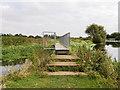 SP9067 : Nene Way, Bridge over River Ise by David Dixon