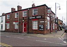 SJ8889 : Royal Oak pub, Edgeley, Stockport by Jaggery