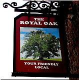SJ8889 : Royal Oak pub name sign, Edgeley, Stockport by Jaggery