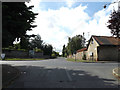 TL9174 : Sapiston Road, Honington by Adrian Cable
