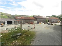 NY3204 : Buildings at Elterwater Quarry by Graham Robson
