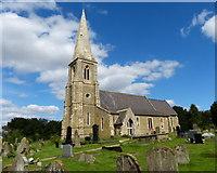 SE8317 : St Oswald's church in Luddington by Mat Fascione