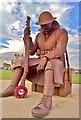 NZ4249 : Tommy, First World War Memorial, Seaham by Chris Morgan