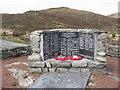 NB3422 : Kinloch War Memorial by M J Richardson