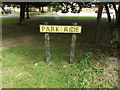 TL9076 : Park Ride sign by Adrian Cable