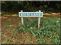 TL9668 : Kiln Lane sign by Adrian Cable