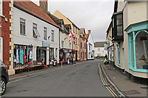ST0743 : Swain Street, Watchet by Peter Turner