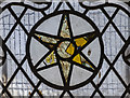 TA0321 : Reset medieval stained glass, St Peter's church, Barton-Upon-Humber by Julian P Guffogg