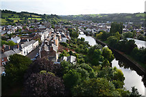 SS9512 : Tiverton : River Exe Scenery by Lewis Clarke