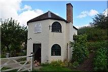 SO9568 : Little Malvern Tollhouse by John M