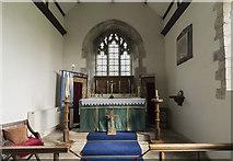 TA0015 : Chancel, St Andrew's church, Bonby by J.Hannan-Briggs