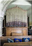 TA0015 : Organ, St Andrew's church, Bonby by J.Hannan-Briggs