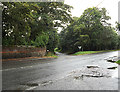 TL8866 : Church Road, Great Barton by Adrian Cable