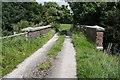 SD4557 : Bridge for farm road over Lancashire Coastal Way by Roger Templeman