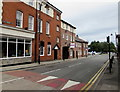 SO9198 : Whitmore Street speed bump, Wolverhampton by Jaggery