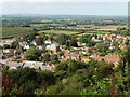 ST4717 : Looking down on Stoke Sub Hamdon, from Ham Hill by Roger Cornfoot