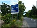 NS3775 : Entering West Dunbartonshire by Lairich Rig