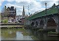 SK7954 : Trent Bridge crossing the River Trent by Mat Fascione