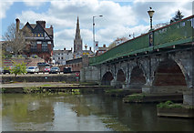 SK7954 : Trent Bridge crossing the River Trent by Mat Fascione