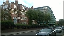 TQ1885 : Flats on Empire Way, Wembley by Christopher Hilton