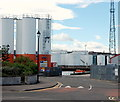 NJ9505 : Silos, Aberdeen Harbour by Bill Harrison
