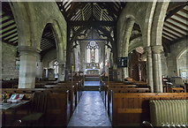 TA0114 : Interior, St Clement's church, Worlaby by J.Hannan-Briggs