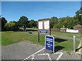 TQ6935 : Car park for Kilndown Village Hall by Marathon