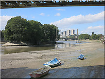 TQ1977 : Low Tide at Chiswick by Des Blenkinsopp