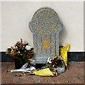 SJ9894 : Memorial to  Fiona Bone and Nicola Hughes by Gerald England