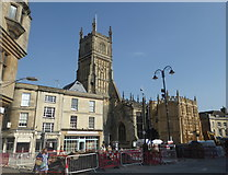 SP0202 : Market Place, Cirencester by pam fray