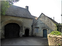 SP0202 : Norman arch, Grove Lane, Cirencester by pam fray