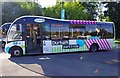 NZ2740 : Durham Park & Ride Optare bus at Howlands Park & Ride, South Road, Durham by P L Chadwick