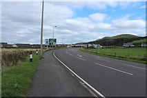 NX1896 : The A77 approaching Girvan by Billy McCrorie