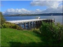 NS1981 : Blairmore Pier by Gordon Brown