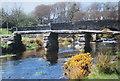 SX6478 : Bridges over the Dart by Des Blenkinsopp