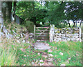 SX6479 : Gate on the Bridleway at Ringhill by Des Blenkinsopp