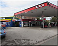 SJ8988 : Cale Green Service Station, Stockport by Jaggery