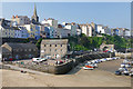 SN1300 : Tenby harbour by Alan Hunt