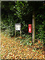 TM1485 : Gissing Village Notice Board & Upper Street Postbox by Adrian Cable