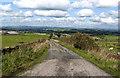 SD7224 : South Lane towards Lower Eden Farm by Ian Greig
