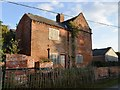 SK7146 : Disused farmhouse in Slack's Lane by John M