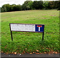 ST2994 : Bilingual name sign Grange Road/ Heol y Plas, Old Cwmbran by Jaggery