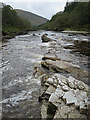 NN2431 : River Orchy by Anne Burgess