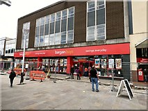 SJ9399 : bargainbuys on Ashton Market by Gerald England