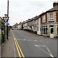 ST2996 : ILDIWCH/GIVE WAY sign facing Richmond Road, Pontnewydd, Cwmbran by Jaggery