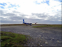 HT9737 : Taking off from Foula by John Lucas