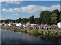 SE1338 : Saltaire Festival: main area in Roberts Park by Stephen Craven