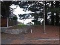SZ1591 : Wick: footpath I29 leaves Ariel Drive by Chris Downer