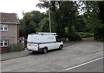 ST2896 : Bron Afon van in Fields Avenue, Cwmbran by Jaggery